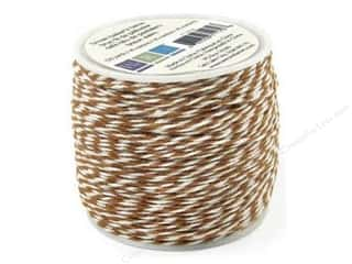 Straight Stitch We R Memory Stamper: We R Memory Baker's Twine Sew Easy Brown 50yd