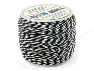 Straight Stitch We R Memory Stamper: We R Memory Baker's Twine Sew Easy Black 50yd