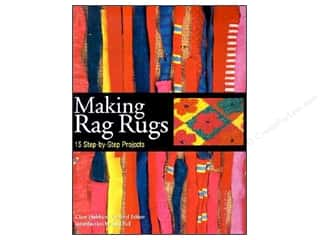 Rug Making Tools Flowers: Storey Publications Making Rag Rugs Book