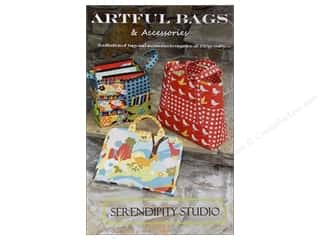 Quilted Trillium, The Purses, Totes & Organizers Patterns: Serendipity Studio Artful Bags & Accessories Pattern