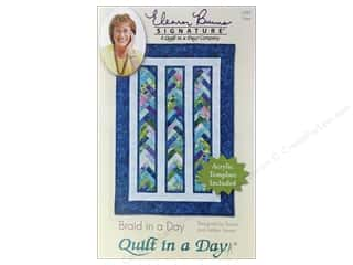 Quilt in a Day: Quilt In A Day Braid In A Day Pattern & Template