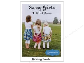 Stitchin' Post: Stitchin' Post Sassy Girls T-Shirt Dress Pattern