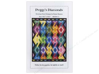 Quilt Woman.com $0 - $1: QuiltWoman.com Peggy's Diamonds Pattern