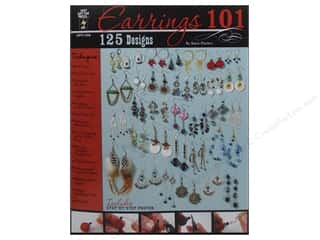 Hot off the Press Beading & Jewelry Making Supplies: Hot Off The Press Earrings 101 Book