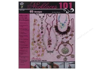 Books & Patterns Beading & Jewelry Making Supplies: Hot Off The Press Necklaces 101 Book