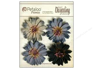 Petaloo Darjeeling Daisies Large Grey/Black