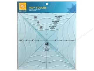 Weekly Specials June Tailor Rulers: EZ Quilting Wavy Squares Acrylic Templates