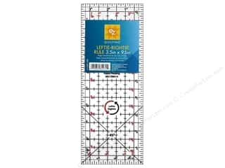 EZ Notions Rulers: EZ Quilting Leftie Rightie Acrylic Ruler 3 1/2 x 9 1/2 in.