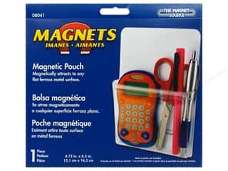 "Art, School & Office Basic Components: The Magnet Source Magnet Magnetic Pouch 4.75""x 6.5"""