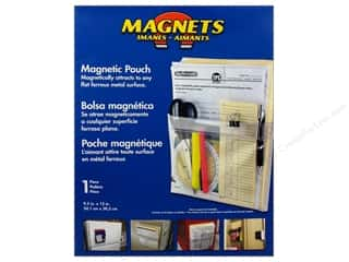 "Magnets Organizers: The Magnet Source Magnet Magnetic Pouch 9.5""x 12"""