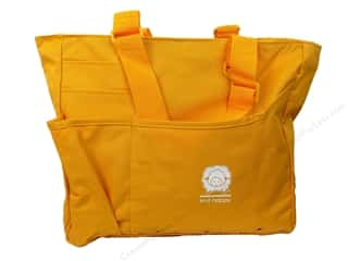 Tote Bag: Happy Lines Tote Knit Bright Bag Yellow