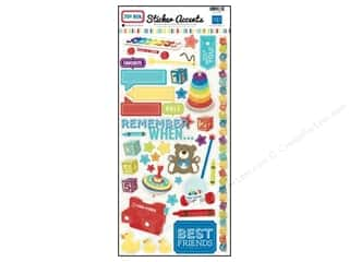 "Echo Park Sticker 12""x 6"" Toy Box (15 set)"