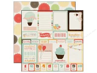 Echo Park Paper 12x12 Sweet Day Journaling Cards (25 piece)