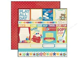 Echo Park 12 x 12 in. Paper Toy Box Jump (15 piece)