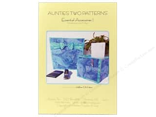 Sheet Vinyl Books & Patterns: Aunties Two Essential Accessories I Pattern