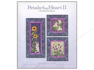 Quilted Trillium, The Flowers: Pine Needles Petals of My Heart II Collection 5 Pattern