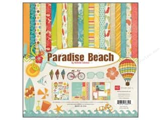 "Echo Park Collection Kit 12""x 12"" Paradise Beach"