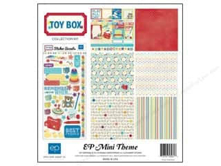 "Echo Park Collection Kit 12""x 12"" Toy Box"