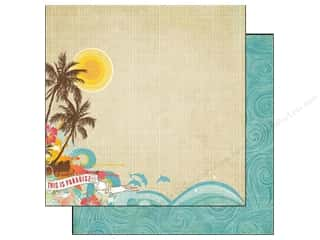 Echo Park Paper 12x12 Paradise Beach Paradise (25 piece)