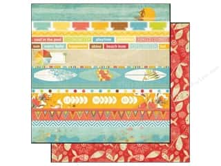 Echo Park 12 x 12 in. Paper Paradise Beach Beach Bum (25 piece)