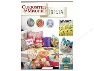 Hearts Books & Patterns: Art to Heart Curiosities & Mischief Book by Nancy Halvorsen