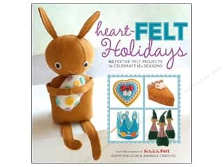 Wool Felt & Felting Patterns: Lark Heart Felt Holidays Book