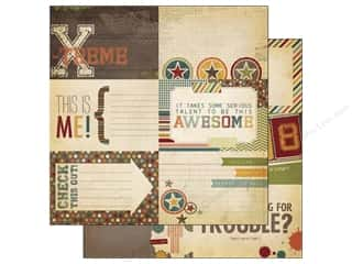 Simple Stories Paper 12 x 12 in. Awesome Journal #1 (25 piece)