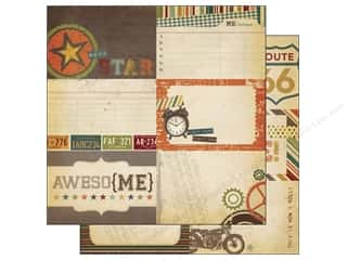 Simple Stories Paper 12 x 12 in. Awesome Journal #2 (25 piece)