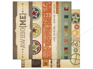 Simple Stories Paper 12 x 12 in. Awesome Border (25 piece)