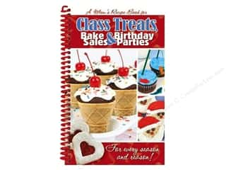 Books & Patterns Fall Sale: CQ Products Class Treats, Bake Sales & Birthday Parties Recipe Book