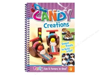 Cooking/Kitchen Books & Patterns: CQ Products Candy Creations Book