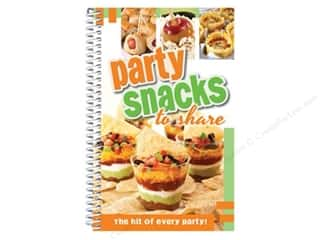 Cooking/Kitchen Hot: CQ Products Party Snacks To Share Book