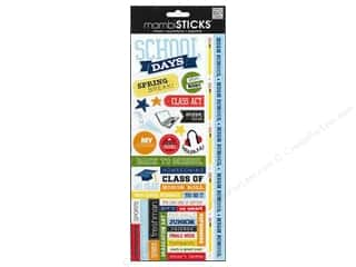 Mothers Day Gift Ideas Scrapbooking: MAMBI Sticker School Days High School