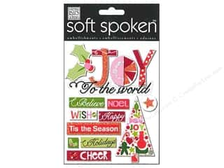 2013 Crafties - Best Adhesive: MAMBI Sticker Soft Spoken Holly Joy To The World