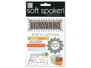 2013 Crafties - Best Adhesive: MAMBI Sticker Soft Spoken Travels Trip Of A Lifetm