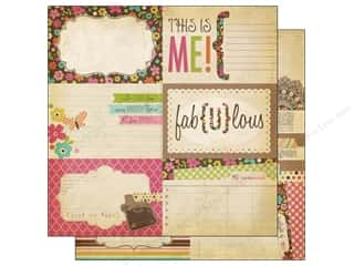 Simple Stories Paper 12 x 12 in. Fabulous Journal #1 (25 piece)
