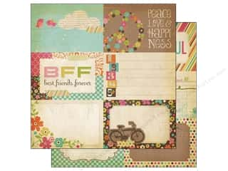 Simple Stories Paper 12 x 12 in. Fabulous Journaling #2 (25 piece)