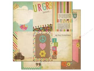 Simple Stories Paper 12 x 12 in. Fabulous Journal Vert (25 piece)