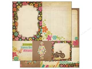 Simple Stories Paper 12 x 12 in. Fabulous Quote/Mat (25 piece)