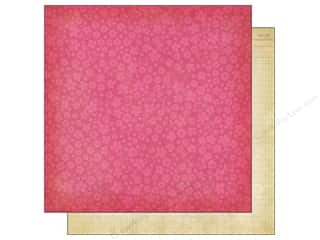 Simple Stories Paper 12 x 12 in. Fabulous Flower Pink (25 piece)
