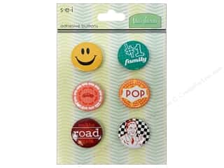 Family paper dimensions: SEI Sticker Buttons Mayberry