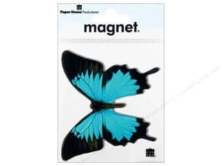 Paper House Magnet Butterfly Blue