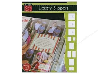 Bazzill Album Page Protector Lickety Slippers 9x12