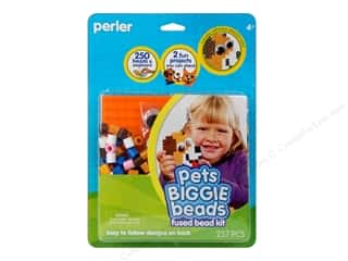 2013 Crafties - Best Adhesive: Perler Fused Bead Kit Biggie Pets