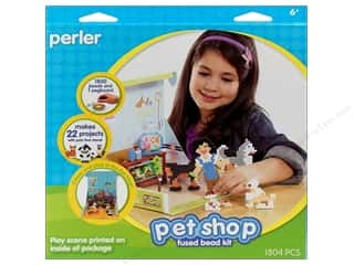 Perler Fused Bead Kit Pet Shop