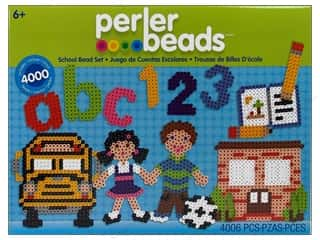 Perler Fused Bead Kit School Bead