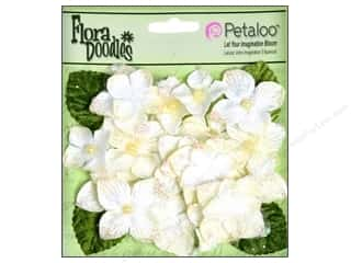 Flowers / Blossoms $6 - $22: Petaloo FloraDoodles Hydrangeas Velvet Cream