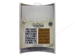 Sizzix Emboss Folder Tim Holtz TF Subway &amp; Stencil