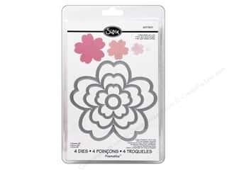 Flowers Sizzix Die: Sizzix Framelits Die Set 4 Pack Flowers #3 by Rachael Bright