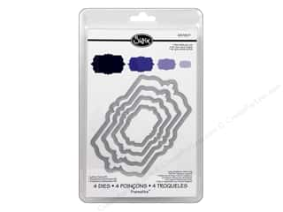 Dies: Sizzix Framelits Die Set 4PK Labels Fancy #3 by Rachael Bright